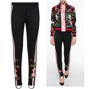 Gucci Floral Embroidered Technical Jersey Legging